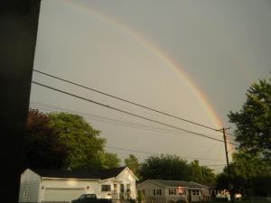 Noah saw the rainbow