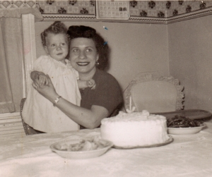 I remember, believe it or not, this birthday. I think my cousin Carmel or my Aunt Josephine took this picture.
