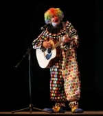 """Pretzel"" the Clown, my husband Robert McGowan, Jr."